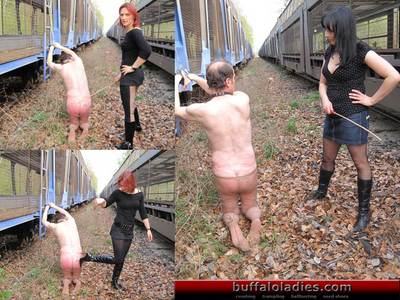 Vicious caning punishment